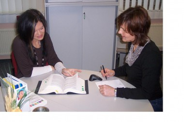 Bewerbungsgespräch, Foto: BKK Faber Castell