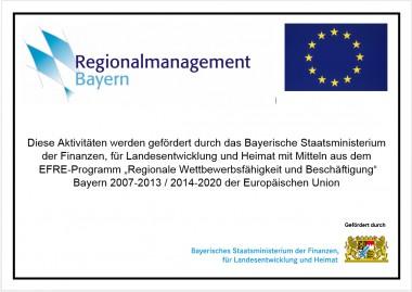 Förderhinweis Regionalmanagement