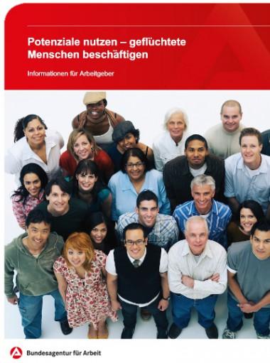 Broschüre Arbeitsagentur
