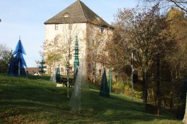 Gläserner Wald in Regen, Glasstraßenpreisträger 2002 (Bild: Michael Dietz)