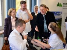 Berufswahltag Arberland Kliniken Landrat Adam