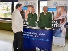 Polizeipräsidium Niederbayern beim Berufswahltag 2016