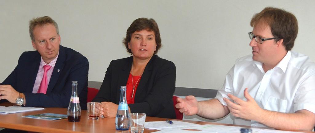Irmgard Badura, Behindertenbeauftragte der Bayerischen Staatsregierung, zu Gast bei der ARBERLAND REGio GmbH