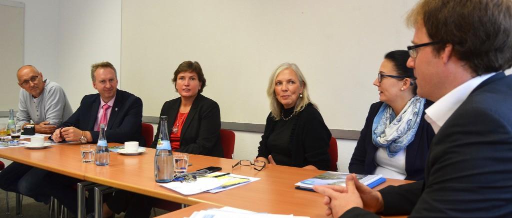 Tourismus für Alle - Irmgard Badura besucht ARBERLAND REGio GmbH