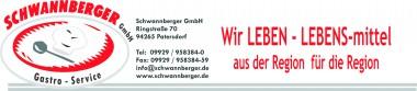 Schwannberger Logo mit Spruch