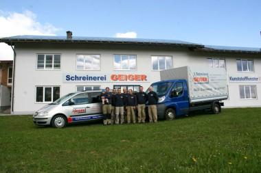 Schreinerei Geiger Team